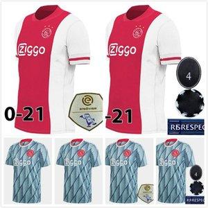 S-4XL Ajax Jersey 2021 Home Soccer Jersey 20 21 Away TADIC VAN DE BEEK ZIYEC NERES AJAX maillot de foot HUNTELAAR Goalkeeper Football Shirt
