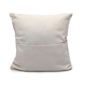 40 * 40см Blank белья наволочки для передачи тепла печати сплошного цвета дивана бросить наволочку пустой сублимации подушки