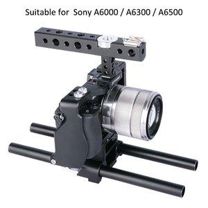vente en gros Cage Caméscope de protection stabilisateur avec précision en aluminium aviation Produit CNC pour Sony A6000 A6300 A6500