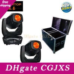 Başlığı Işık Hareketli Yeni Geliş flightcase 2in1 Lyre LED 200W Moving Head Işın Nokta Yıkama 3in1