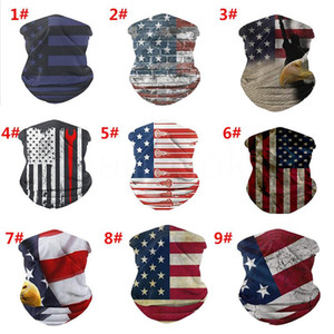 13 style national flag headband Outdoor riding mask national flag outdoor sports riding mountaineering digital printing magic mask DA541