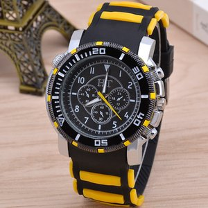 Cross-Border Hot Selling Six-Hole Sports Mens Watch Fashion Trend Silicone Quartz Watch Mens Watch Wholesale