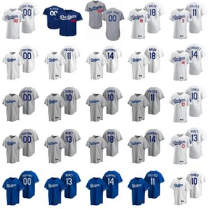 8 Manny Machado jerseys para mujer de Sandy Koufax 9 Grandal 18 Didi Gregorius 16 Will Smith 17 Joe Kelly jerseys del béisbol de encargo cosido