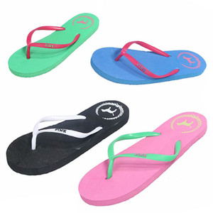 Slippers Ladies Summer Non-slip Rubber Beach Sandals Slippers Fashionable Lightweight Wearable Breathable Internal and External Dual-use