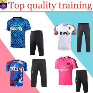 sportswear terno treinamento nova Madrid Valencia CF futebol manga curta 19 20 PAREJO camisa de futebol GAMEIRO RODRIGO Jersey fato de treino