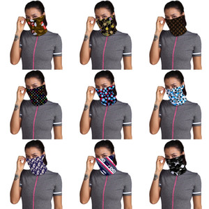 Máscaras I Cant! Primavera y verano de la marca de la fibra de algodón lavable de la mascarilla del diseñador hombres de las mujeres Bufanda de ciclo Deportes nariz Er Breathab # 141 # 231