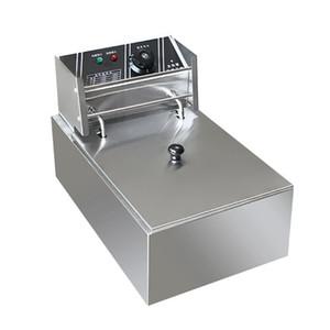 220V المطبخ المطبخ والطهي المنزلية الكهربائية المقلاة فرايد تشيكن موقد القلي آلة كهربائية فراير 2500W