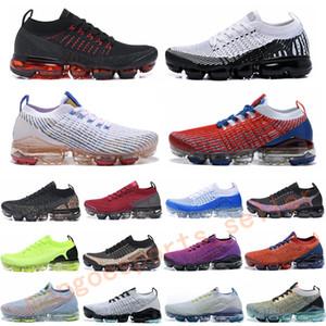 Fly 2.0 3,0 Кроссовки Knit 2,0 3,0 Mens женщин кроссовки Тройной черный белый CNY Тайгер Радуга спортивной обуви