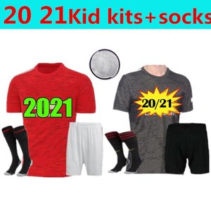Men Kids kit 20 21 POGBA Manchester soccer jersey 2020 2021 Jerseys UTD UniTed ALEXIS RASHFORD LINGARD football shirt boys RASHFORD kit