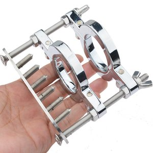 Hinge Clamp Spike CX200731jouets Ring Cage Sexuelstoys Chastity Member Dick Erection Slave Ball Stretcher Penis Lock Device Bdsm Scrotu Ibvt