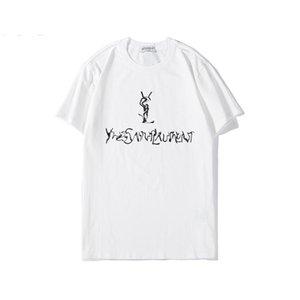Nueva llegada para hombre de lujo de las mujeres camiseta de moda camiseta para mujeres de los hombres de impresión de letras moda suéter con capucha de los hombres camisa de la camiseta de la blusa de B103464L