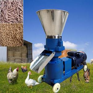 Novo Tipo KL-125 Granulador de Alimentação Alta Eficiência Animal Animal Alimentar Comida Fazendo Máquina 220V / 380V opcional 80kg / h