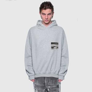 20SS Eye Foto Printed High Street Hoodys Einfache beiläufige lange Hülsen-Pullover Männer Frauen Hoodies Pullover Außen HFYMWY416