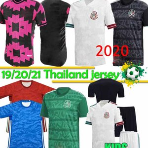 20 21 Meksika Futbol forması H.LOZANO DOS SANTOS Chicharito 2020 2021 milli takım sporları futbol üniforma gömlek Tayland