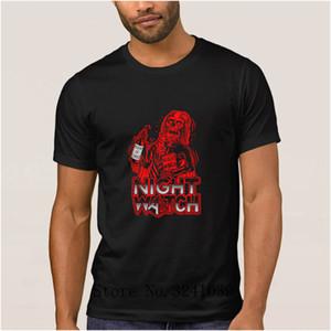 Anlarach Knitted new night watch men t shirt summer Fit Game of Thrones Nights Watch Crows men t-shirt Novelty mens tee shirt