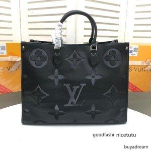 çanta omuz çantası Alışveriş messenger alışveriş M445713 onthego kadınlar zincir çanta çantalar Totes Kozmetik Bag cebe