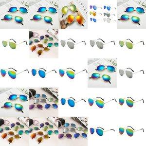Girls Colorful Reflective Yurt Junior Sunglasses Lentes De Sol Para Ninas Occhiali Da Vista Bambini 2018 Izipizi Enfant beidiensport MHkAT