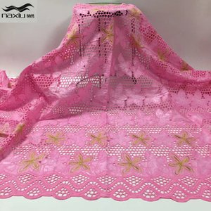 bazin riche getzner fabric african lace fabric wedding brode embroidery nigerian lace fabrics for dress sewing