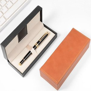 PU Leather pen box Business Promotion Souvenirs Gift Box Pen Package creative gift box packaging Birthday Party Father's Day