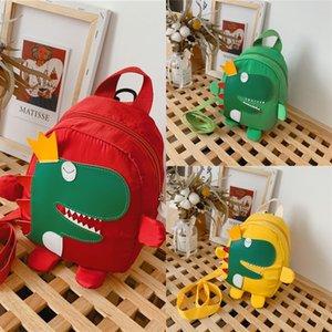 gB0h0 koreanischen Kinder Art Kinderbeutel 2020 Frühling und Sommer neue Eltern-Kind-Rucksack niedlichen Dinosaurier kleinen Rucksack trendy Jungen und g