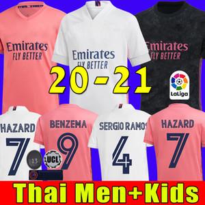 20 21 Real Madrid camisetas de fútbol PELIGRO Jović BENZEMA camiseta de futbol 2020 2021 VINICIUS RODRYGO Modric camiseta de fútbol de los cabritos sets