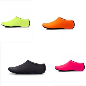 Waterproof Snorkeling Meias Nylon Piscina Sock resistentes ao desgaste de praia Calçado de praia Calçado multi Multi Função Tamanho 4 8ch D2