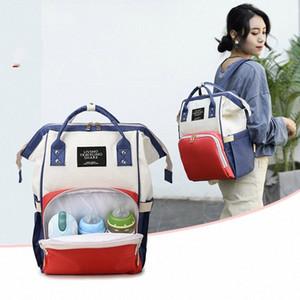 Baby Care Women's Fashion Bag Wholesale Fashion Large Capacity Mummy Bag Maternity Nappy Travel Backpack Nursing suYv#