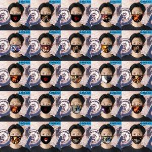 Naruto Oc cubrebocas diseñador de la máscara tapabocas reutilizable cara para la máscara de cara de dibujos animados bebé 01 naruto Oc OYtGu trustbde