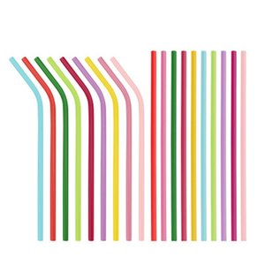 Good Quality Stainless Steel Pipette Drinks For Drinking Recycling Straws Portable Straight And Curved Tube Multi Color 1 98yfH1