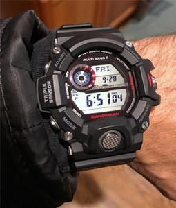 Camo Green G Стиль Dig циферблатом Часы Relojes де Lujo пара HOMBRE 9400 Водонепроницаемый GW Солнечный свет Мужские Спорт Shock Часы Цифровые спортивные часы