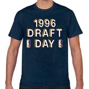 Tops T Shirt Men mamba draft day 1996 apparel socks Casual Black Geek Short Male Tshirt XXX