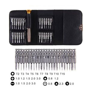 25 in 1 Screwdriver Kit Torx Multifunctional Opening Repair Tools Set for iPhone Cellphone Tablet PC Repair Portable Tool Kit Toys