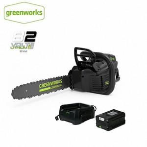 Nouveaux GreenWorks Arrivée Pro GCS180 82V 18 pouces sans fil Chainsaw 5 Ah Li-Ion Chargeur de batterie inclus sans retour cD9x #