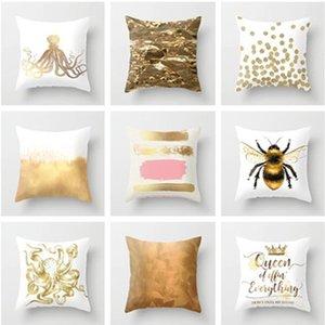 Pillowcase Creative home Fashion printing Sofa cushion cover Leisure General Car cushion cover customizable