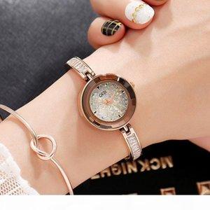 E 2018 New Gedi Brand Luxury Watches Women Fashion Bracelet Quartz Crystal Wrist Watches Ladies Casual Dress Sport Watch Clock S924