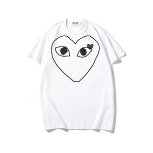 marchio Chao chuanchubaoling uomini T-shirt e abiti estate di usura Baoling gioco di moda a maniche corte amore della coppia ricamo delle donne