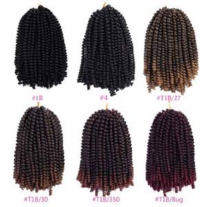 Spring Twist Hair Ombre Colors Crochet Braids Bomb Twist Hair