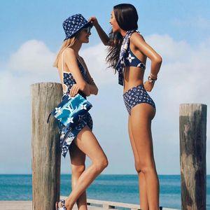 Designers Swimwear Summer Styles Push Up Halter Top Bathing Suit Sexy Women One Piece Swimwear Conjoined L Letter Swimsuit Bikini