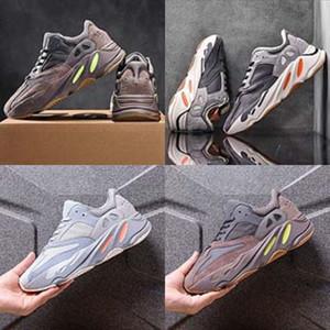 Новорожденные Kid Детские Мальчики Девочки Холст кроссовки для младенцев первых ходунки Повседневный Anti-Slip Sole шпаргалки Kanye West 700 Kanye West 700 Обувь для младенцев Кашу # 779