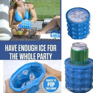 13.2*14.1 Silicone Ice Cube Maker Genie Beer Cooler Tools Kitchen Accessories Gadgets Birthday Party Decoration Wedding Table Centerpieces