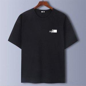 20ss Unisex brand T-shirt short sleeve female designer 100% cotton women's printed street wear summer men's and women's high-end shirt top