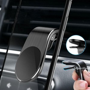 Universal Magnetic Car Mount Phone Holder Mini Air Vent Clip Mount Magnet Mobile Stand for Smartphones DHL