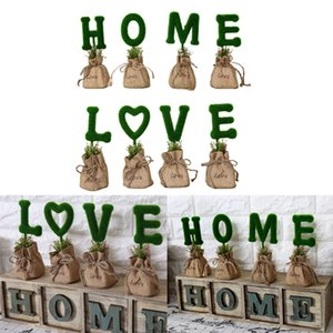 8pack Creative LOVE Home Artificial Bonsai Mini Sack Flowers Desktop Decor