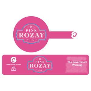 3.5g Plätzchen PVC-Etiketten für 2 Unzen 60ml kindergesicherten Glas Gary Payton Plätzchen SF London Pound Cake Aufkleber