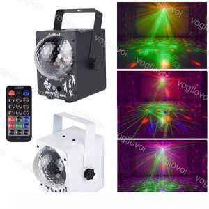 Laser lighting 60 Pattern Stage Lighting Disco RGB Projector Party Lights DJ Lighting Effect For Home Wedding DJ Equipment DHL