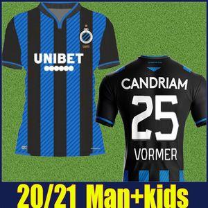 2020 Club Brugge KV soccer jersey adult kids kit 20 21 Belgium Brugge VORMER VANAKEN football shirts DIATTA SCHRIJVERS Camiseta de Bruges