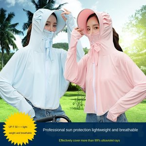 women 2020 new Bicycle clothes thin long-sleeved sunscreen coat UV-proof Internet celebrity cycling sunscreen clothes