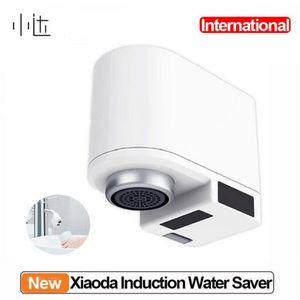 Xiaomiyoupin Xiaoda Автоматическая Вода Saver Tap Инфракрасный датчик воды Энергосберегающие устройства Кухня Ванная Смарт индуктивный кран