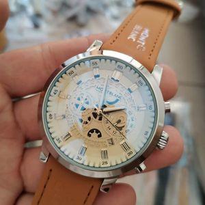 Unique Swiss Men Watch Big Dial Fashion Men's Watches Stainless Steel Watch Top Luxury Quartz Chronograph Mens Wristwatches Royal Oak