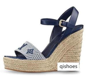 SAIL AWAY WEDGE SANDAL 1A3RBW WOMEN SANDALS Espadrilles Wedges Slides Thongs PUMPS FLATS SNEAKERS Dress Shoes